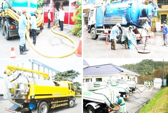 Dịch vụ hút hầm cầu đáp ứng nhu cầu hiện nay