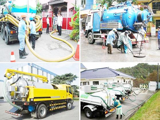 Dịch vụ hút hầm cầu chuyên nghiệp