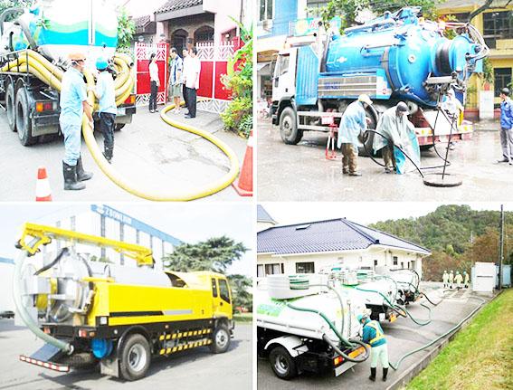 Dịch vụ thông tắc cống giúp cho môi trường sạch sẽ, thông thoáng