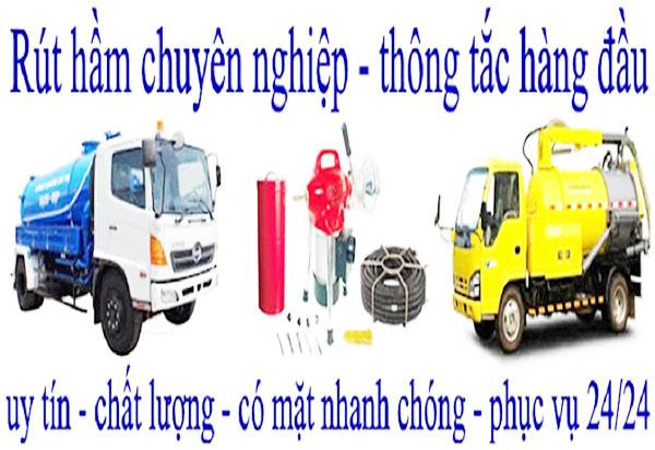 Hút hầm cầu tại TP Biên Hòa uy tín, nhanh chóng 24/24 chỉ có tại VIỆT IPHỐ