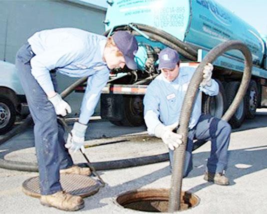 Quy trình hút hầm cầu chuyên nghiệp